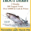 Derby Drawing is This Sunday March 19that 2PM!!!!!!!!!!