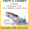 Our Annual Trout Derby Is Set To Start Soon!