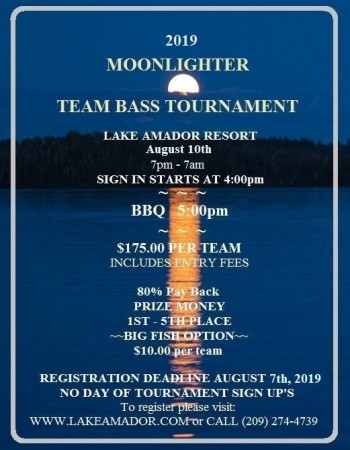 Annual Team Bass Tournament