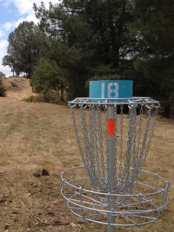 Disk Golf at Lake Amador CA