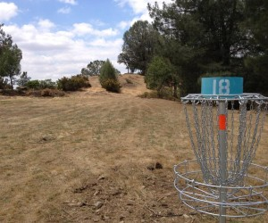 Disc Golf at Lake Amador, CA
