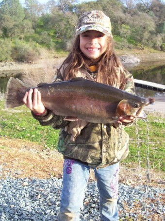 Kids Fishing at Lake Amador, cA